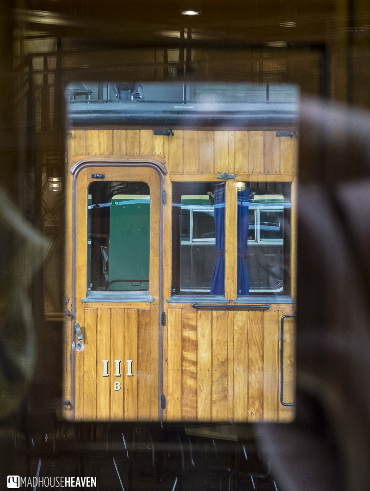 The Netherlands Railway Museum, retro train carriages